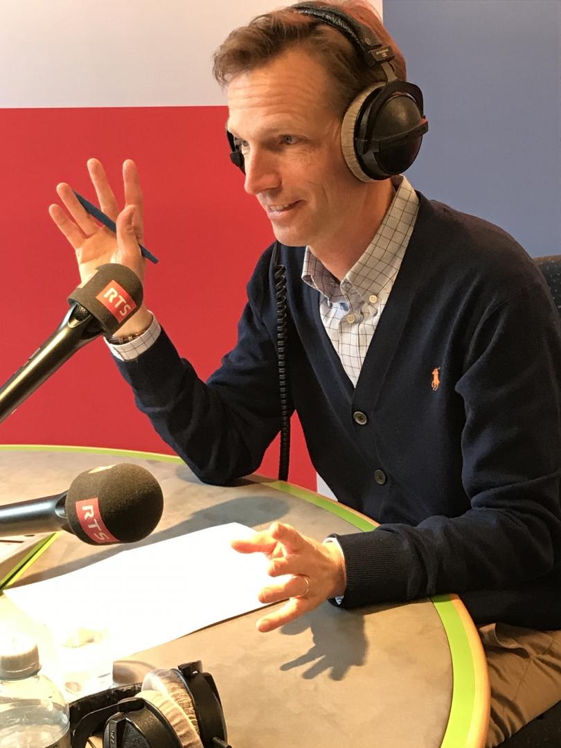 A la Radio Suisse Romande engagé pour la loi