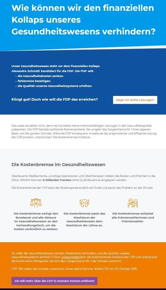 Die Schweiz verdient besseres als Schmutzkampagnen